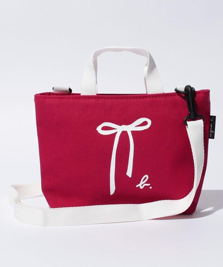 トートとショルダー2way仕様〈agnès b. (アニエスベー)〉のバッグ