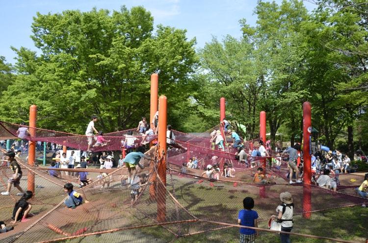 国営昭和記念公園の大型遊具