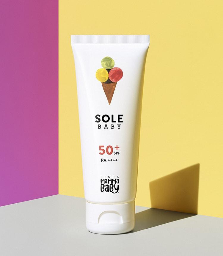 MilK JAPON「敏感肌でも安心!ママと子どものための日焼け止め&虫除けアイテム9選」〈ママベビー〉の「UVプロテクションミルク SPF50+ PA++++ S-Green」