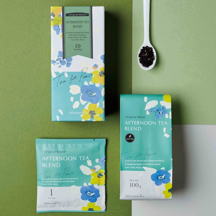 〈Afternoon Tea TEAROOM〉売上 No.1 紅茶の25周年を記念した「限定コラボ缶」発売