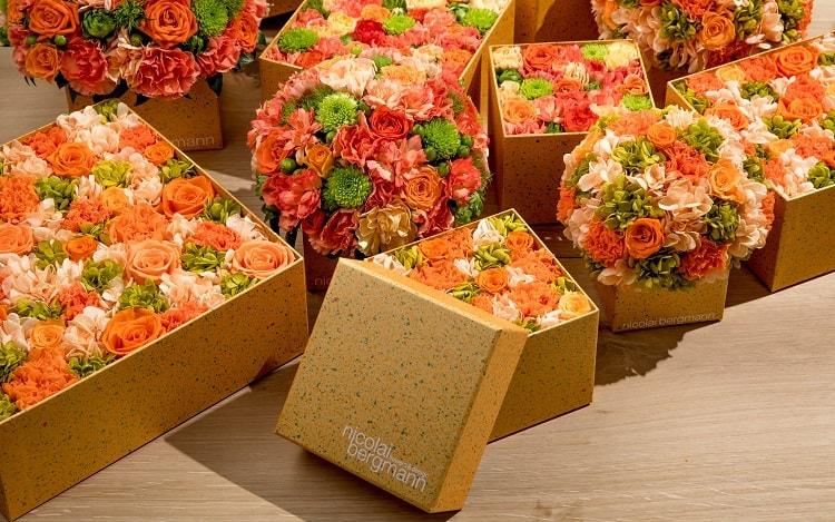 〈ニコライ バーグマン フラワーズ & デザイン〉太陽の日差しをイメージした夏限定ボックス登場!