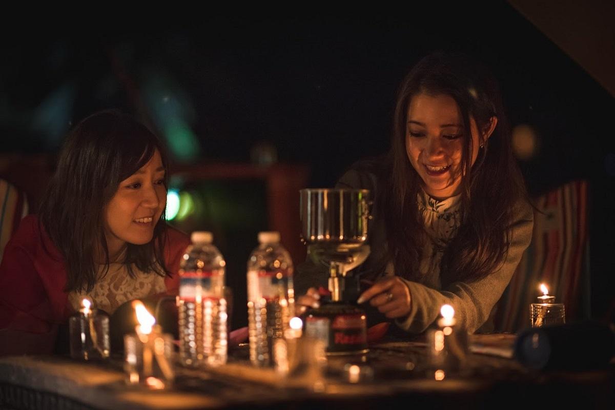 〈REWILD RIVERSIDE GLAMPING HILL〉千葉にキャンドルを灯そう! 体験型キャンドルナイトプラン誕生