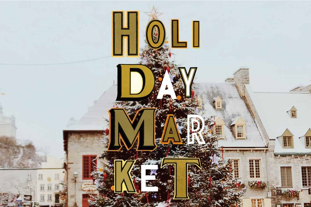 〈TODAY'S SPECIAL〉クリスマスの準備をはじめよう!「HOLIDAY MARKET」開催