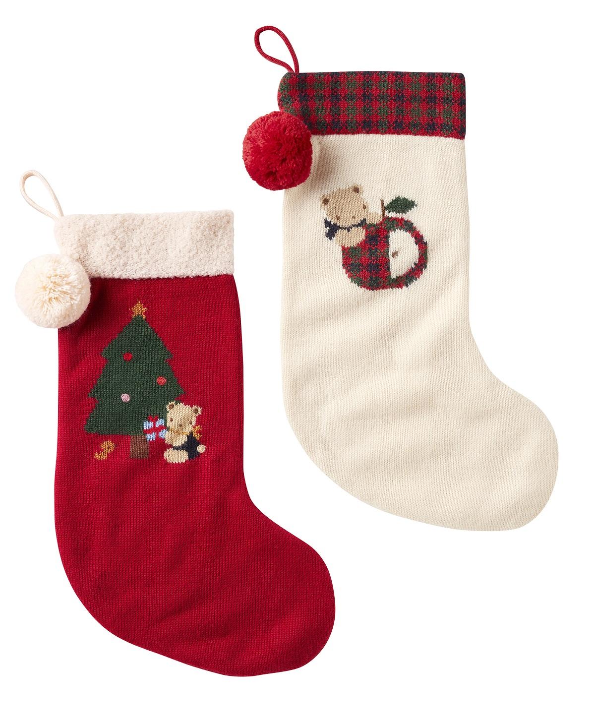 〈ファミリア〉クリスマスソックス