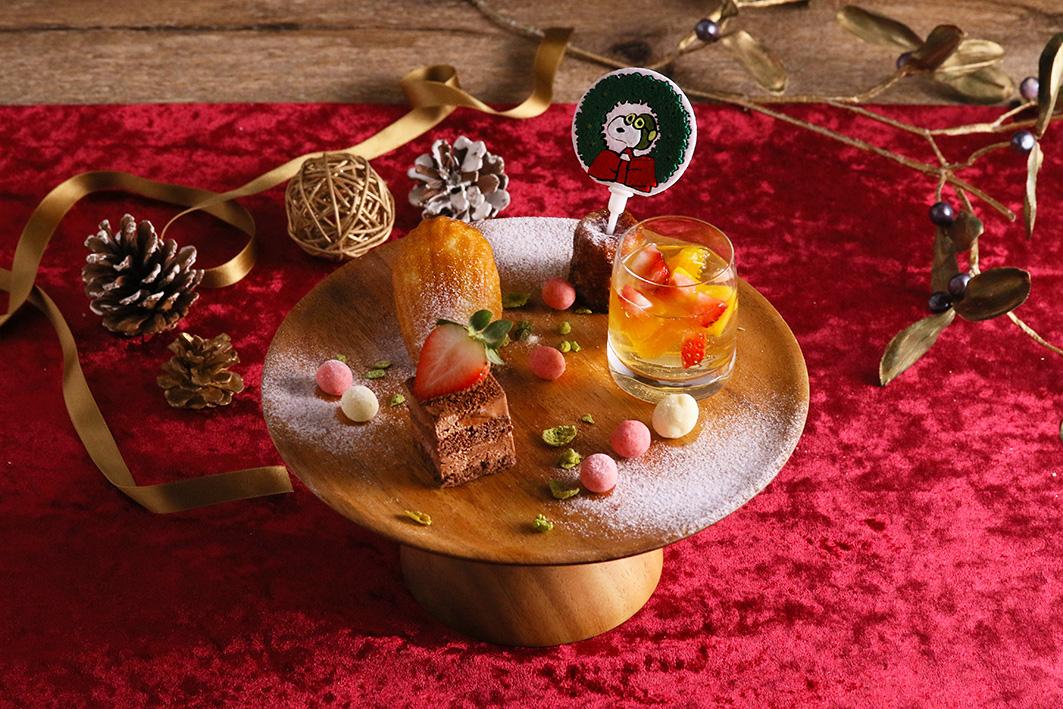 スヌーピーがテーマのピーナッツ カフェ&ダイナーからクリスマス限定メニュー登場!