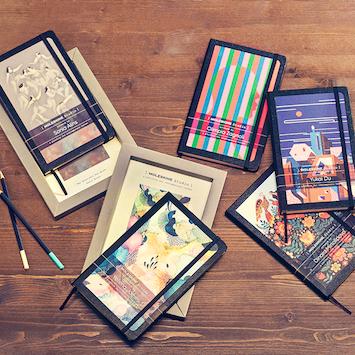 「モレスキン」×6人のアーティスト。創造性を刺激するコレクションが誕生!