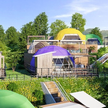 淡路島初のドーム型グランピング施設「グランピングリゾートAwaji」がGWにオープン!