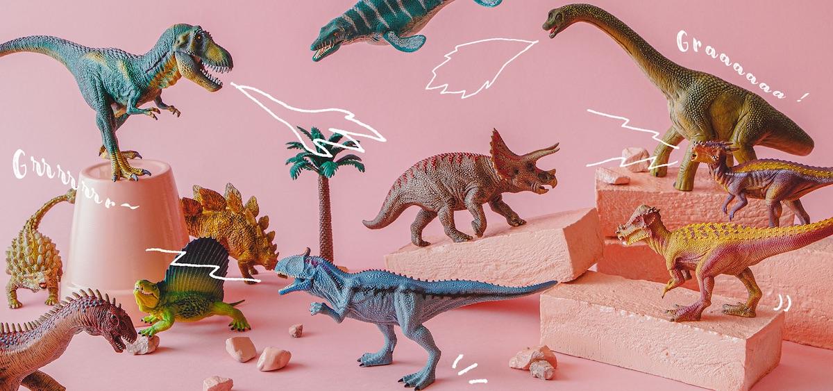 ドイツの老舗玩具メーカー、シュライヒ社の恐竜フィギュアは、細部までリアルに再現したフォルムが迫力満点! 恐竜フィギュア ¥1,628〜