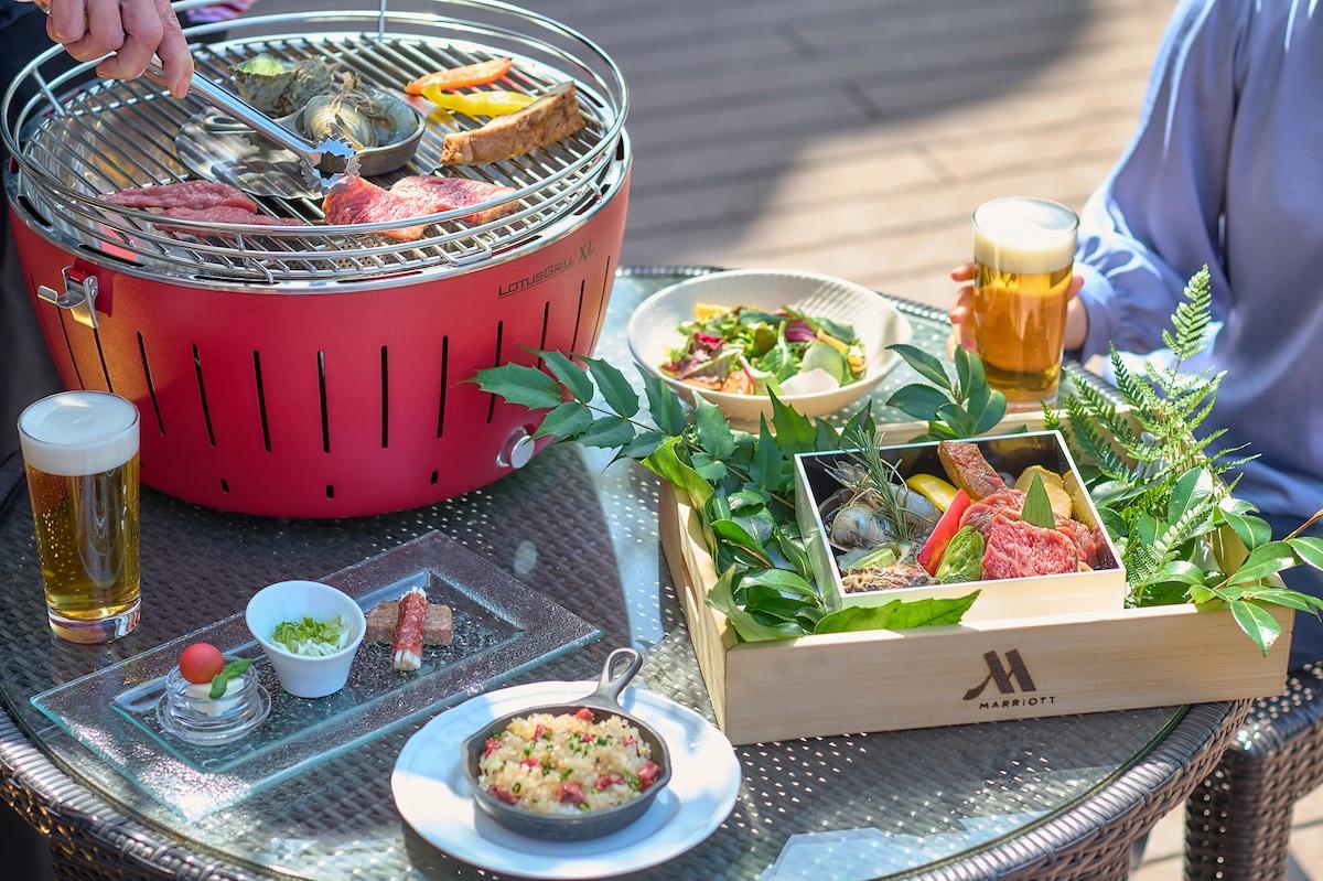 「御殿山テラス」の本格BBQで、爽やかな5月を満喫!