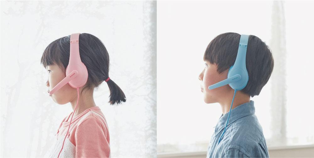 子ども専用ヘッドセット 各¥3,278(店頭実勢価格)/エレコム