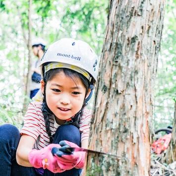 6/26開催! 東京・檜原村で世界でひとつの丸太イス作りを体験