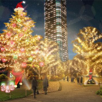 クリスマスツリーにイルミネーション、アイスリンクも登場!東京ミッドタウンの「MIDTOWN WINTER MOMENTS」で冬を満喫