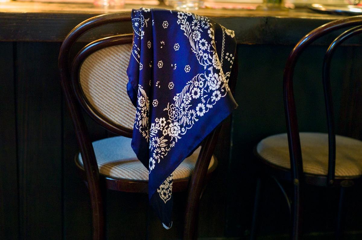【Vol.7】〈crabat〉のスカーフ