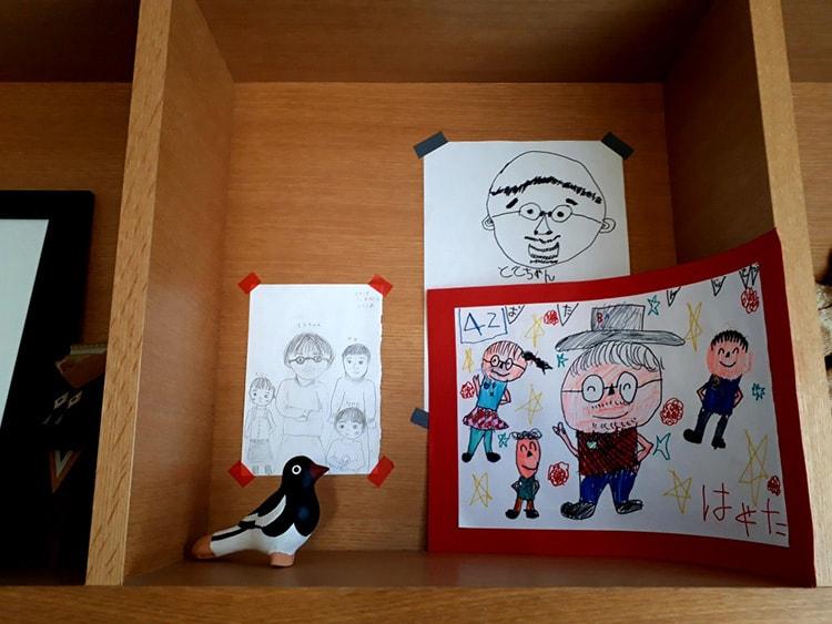 〈tupera tupera〉中川敦子『子どもが描いたパパの絵』