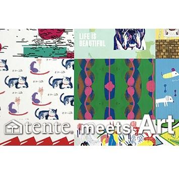 20周年を迎えた〈テンテ〉と20人のアーティストがコラボレーション!「tente meets ART展」開催