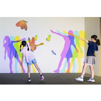 〈新潟市新津美術館〉で「光と遊ぶ超体感型ミュージアム 帰ってきた!魔法の美術館」を開催